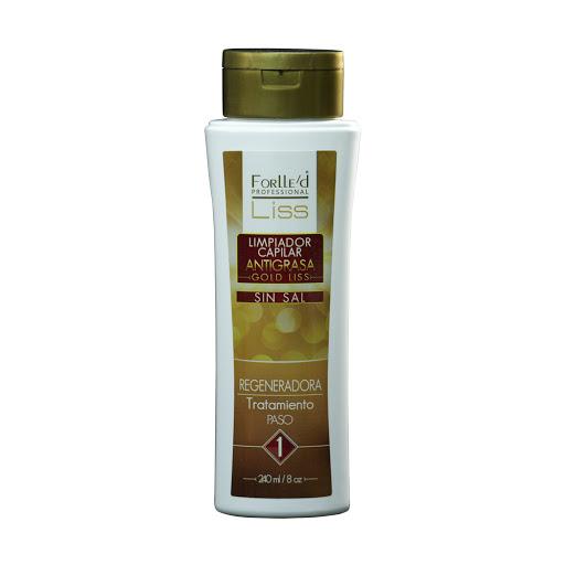 champu forlled gold liss antigrasa 240ml