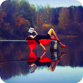 Water Pixel Reflection Effect Mirror Photo Editor