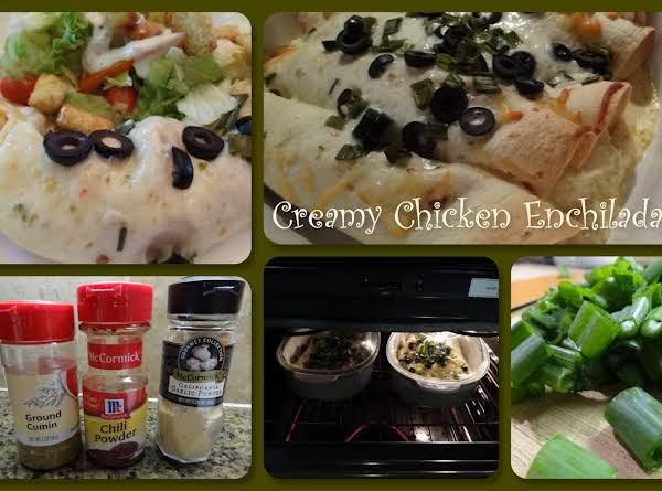 Creamy Chicken Enchilada Recipe