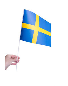 Pappersflagga, Sverige