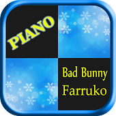 Tải Bad Bunny ft Farruko Piano tiles APK
