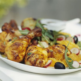 Chicken with Citrus Salad