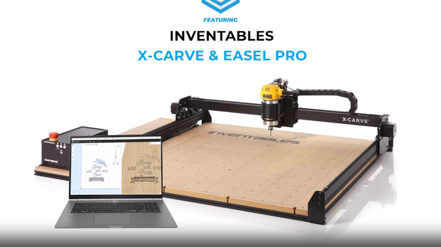 This project was made possible using the Inventables X-Carve and Easel PRO.