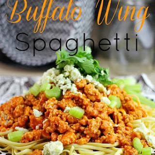 Buffalo Wing Spaghetti