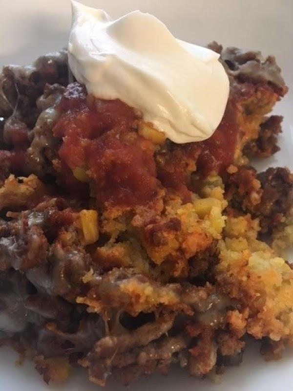 Hot Tamale Skillet Pie Recipe