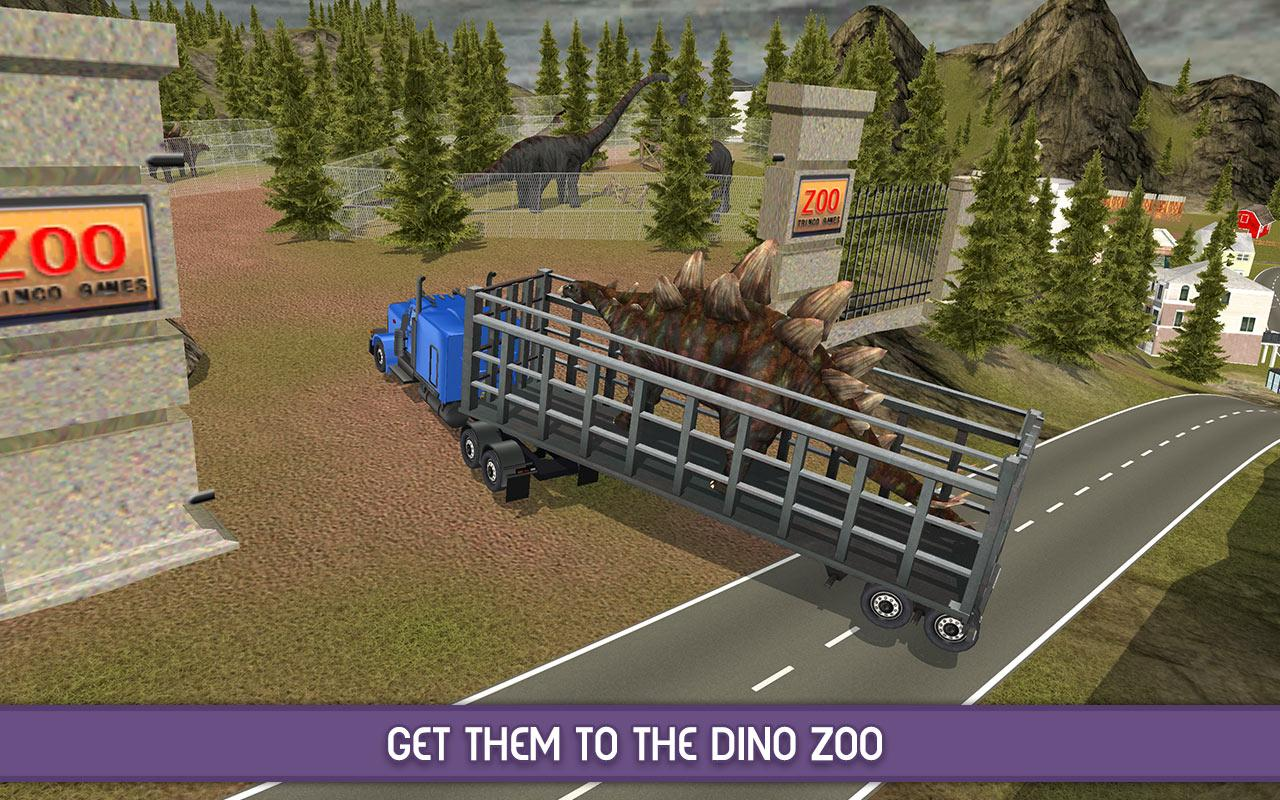 Angry Dinosaur Zoo Transport- screenshot