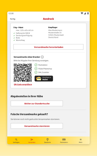 DHL Paket  screenshots 21