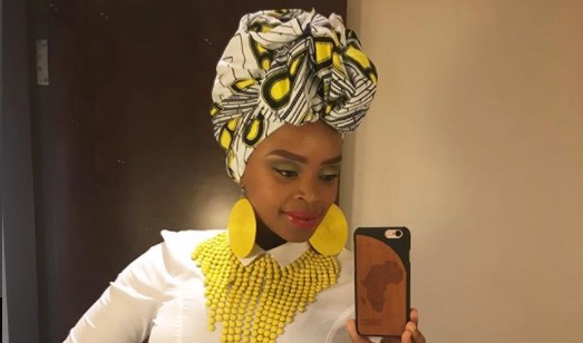 Zoleka Mandela is determined to get back into shape.