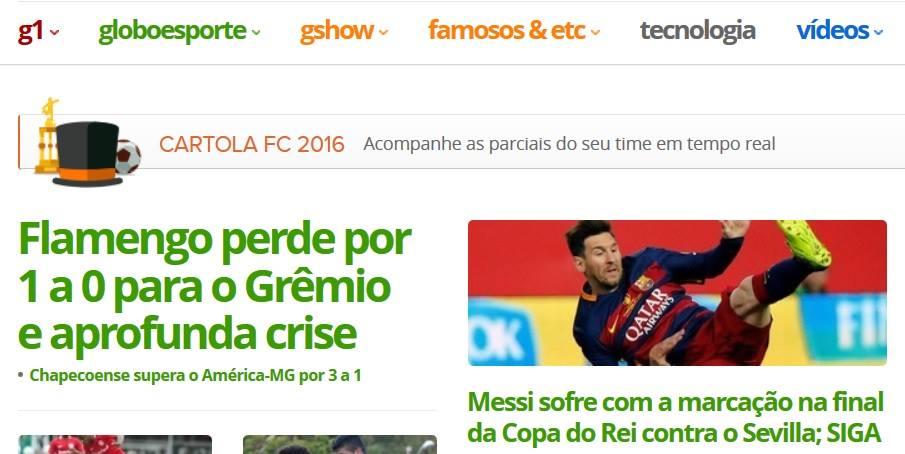 No fim do jogo já era crise no Flamengo
