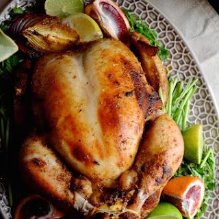 Puerto Rican Style Roast Chicken