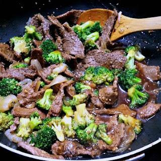 Honey-Soy Beef & Broccoli