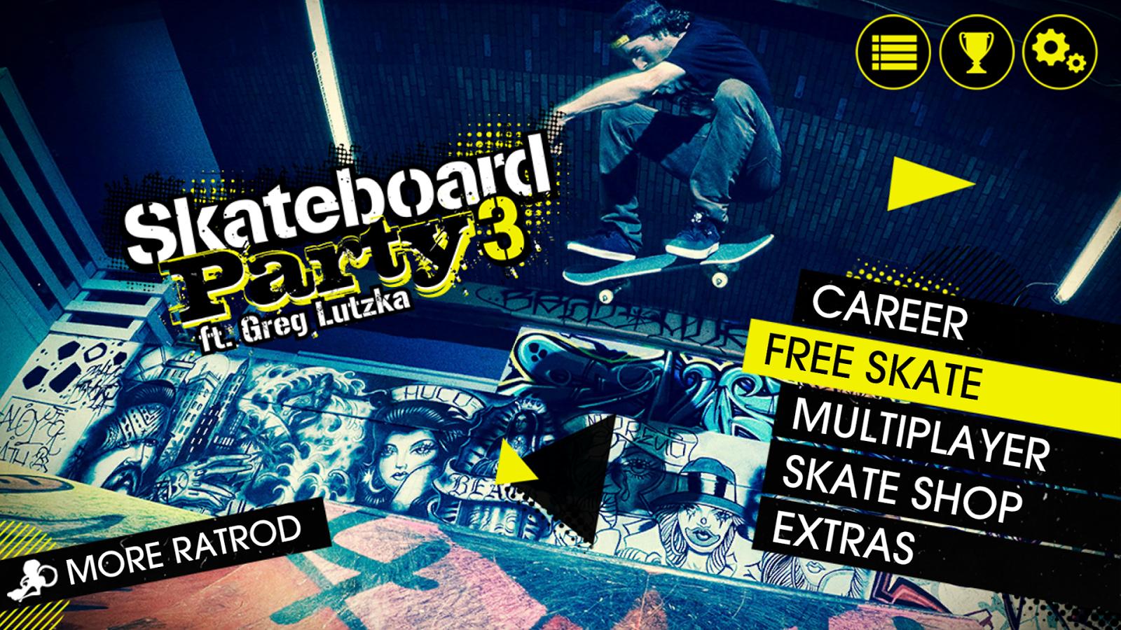 Skateboard Party 3 Greg Lutzka– captură de ecran