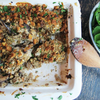 Herbed Stuffing Chicken Crunch Bake