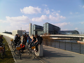 Photo: Hauptbahnhof with Bicycle Tourists