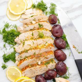 Slow Cooker Lemon-Dill Turkey Breast (Half Turkey Breast).