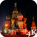 Russia 4K Live Wallpaper icon