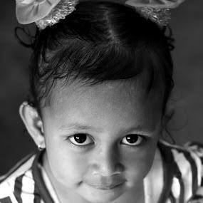 upi smile by Travis Borland - Babies & Children Child Portraits ( girl, black white, children, asian )