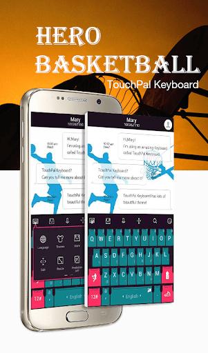 TouchPal Basketball Theme
