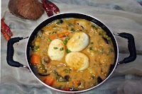 Egg Vegetable Curry