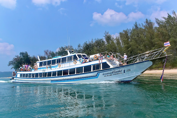 Travel from Phuket to Ao Nang by ferry