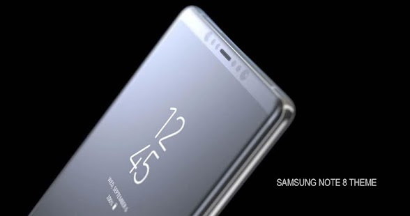 Note 8 Theme and Launcher of Galaxy Samsung - náhled