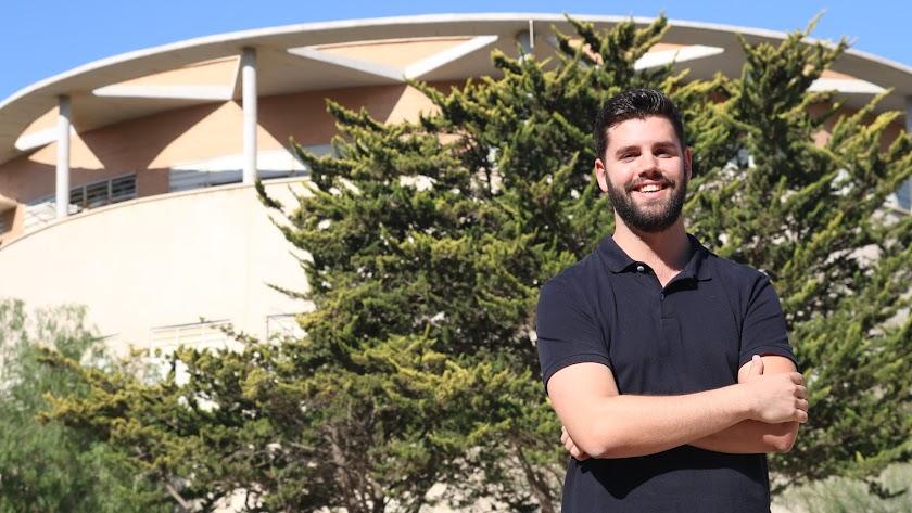 Juan Miguel Flujas, en la Universidad.