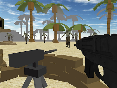 Zombie Shooting Tsunami screenshot 1