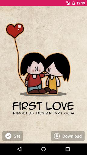 Love. Wallpaper