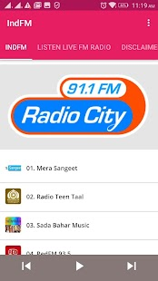 Radio IndFM - náhled