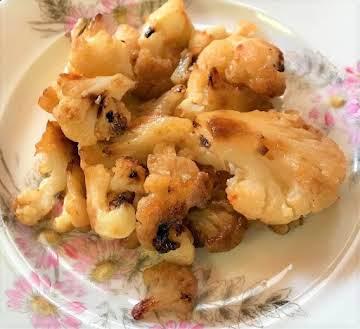 Roasted Honey-Cayenne Cauliflower