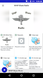 WHIP Blues Radio - náhled