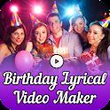 Birthday Lyrical Video Maker icon