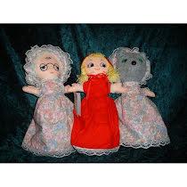 Rödluvan trio