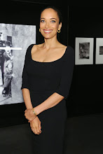 """Photo: Carmen Chaplin at the inauguration of """"Chaplin Forever!"""" Exhibition wearing a Jaeger-LeCoultre vintage Reverso Duoplan watch.  """"Chaplin Forever!"""" is on display at the Film Society of Lincoln Center from April 25th to May 4th, 2014.   Read more at: http://bit.ly/1k90nlv"""