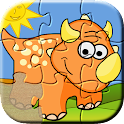 Dino Puzzle Games for Kids icon