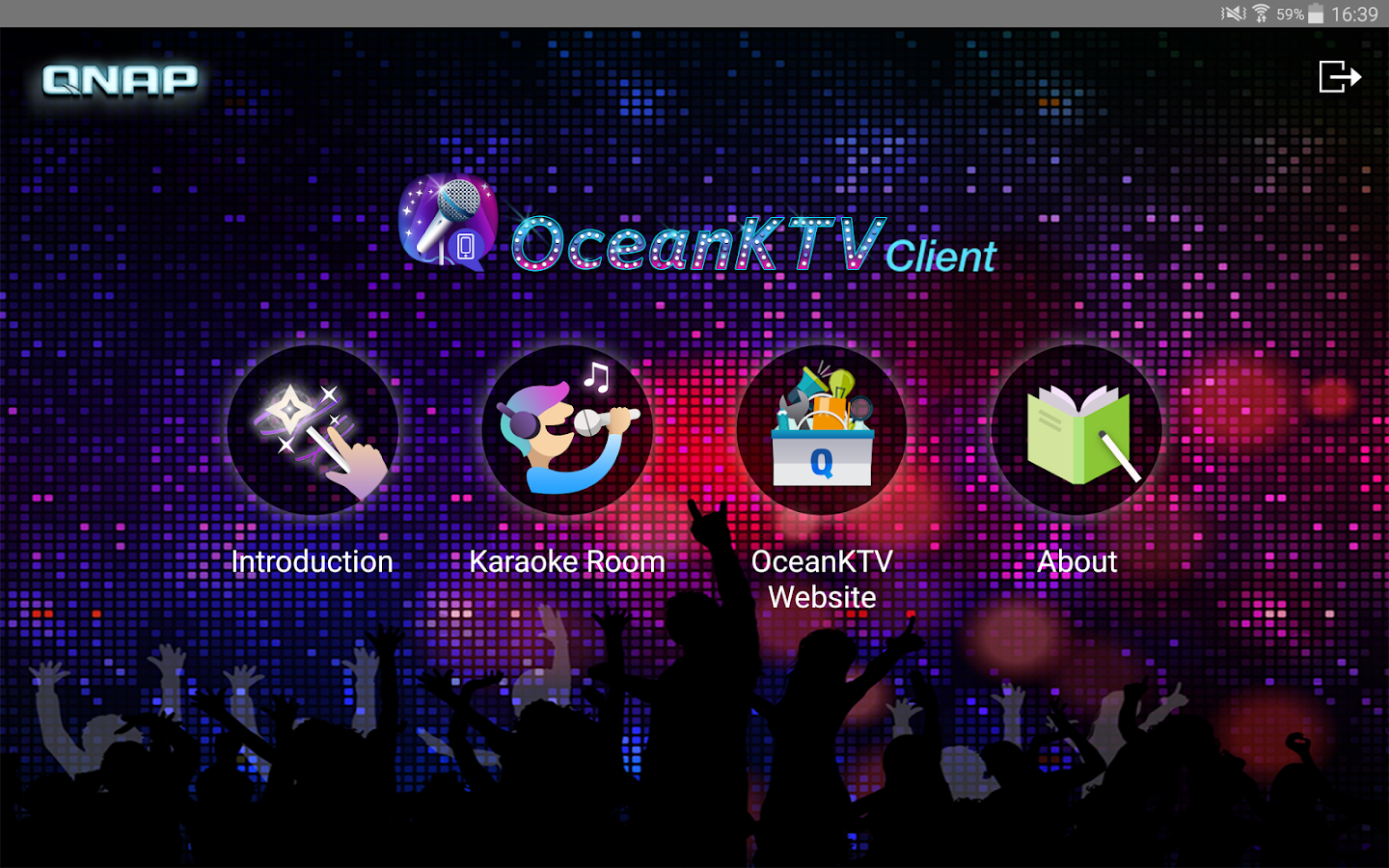 OceanKTV Client- screenshot