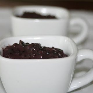 Cardamon Infused Black Rice Pudding with Coconut Milk