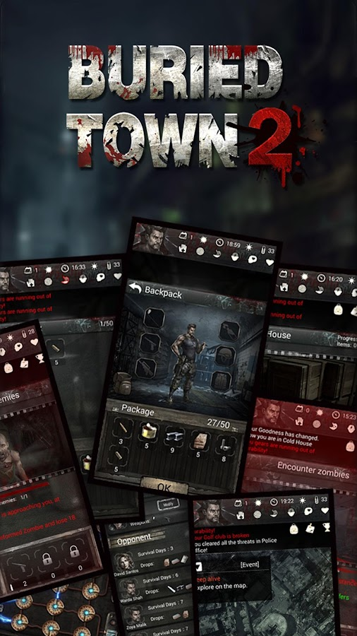 Buried Town 2: Zombie Survival Game- screenshot