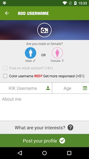 Kik me google