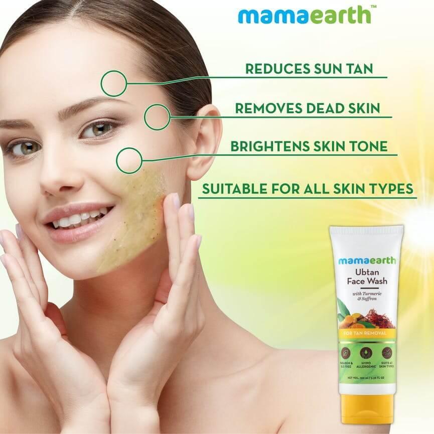 Mamaearth Face Wash Benefits