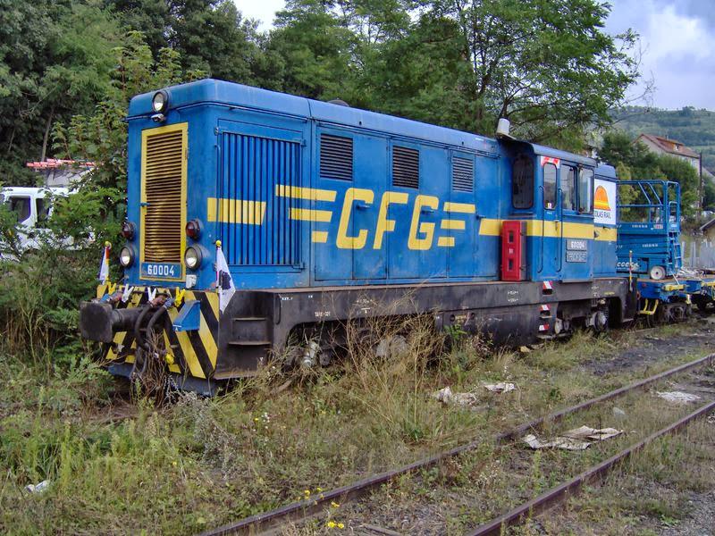 Train de travaux à La Motte d'Aveillans