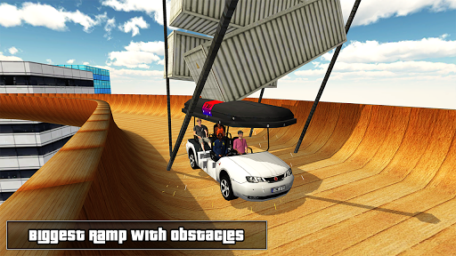 Biggest Mega Ramp With Friends - Car Games 3D apkpoly screenshots 4