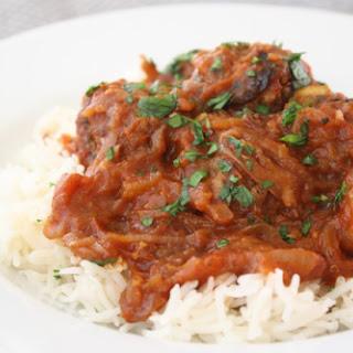 eat more lamb … Lamb Bulger Meatballs in Tomato Sauce