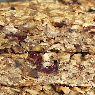 Peanut Butter and Banana Granola Bars