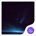 Quiet Starry Night Sky-APUS Launcher stylish theme icon