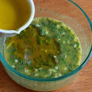 Fresh Thyme and Shallot Salad Dressing.