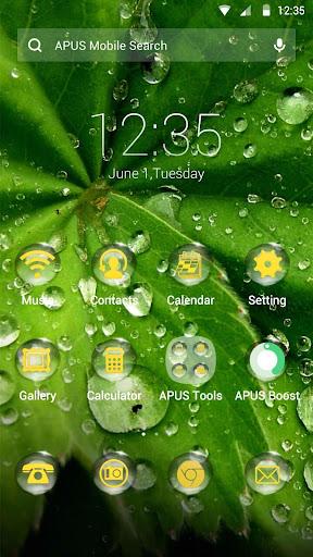 Dewdrop theme for APUS