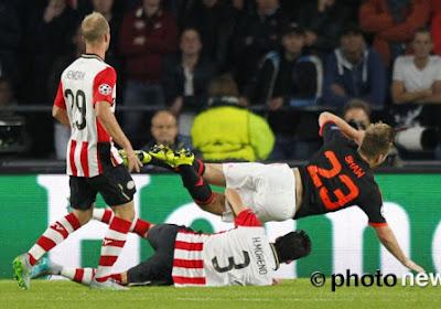 PSV - Man United : l'horrible double fracture de la jambe de Luke Shaw (VIDEO)