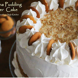 Banana Pudding Layer Cake.