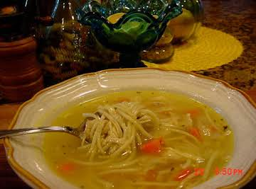 BONNIE'S ALMOST CAMPBELL'S CHICKEN NOODLE SOUP